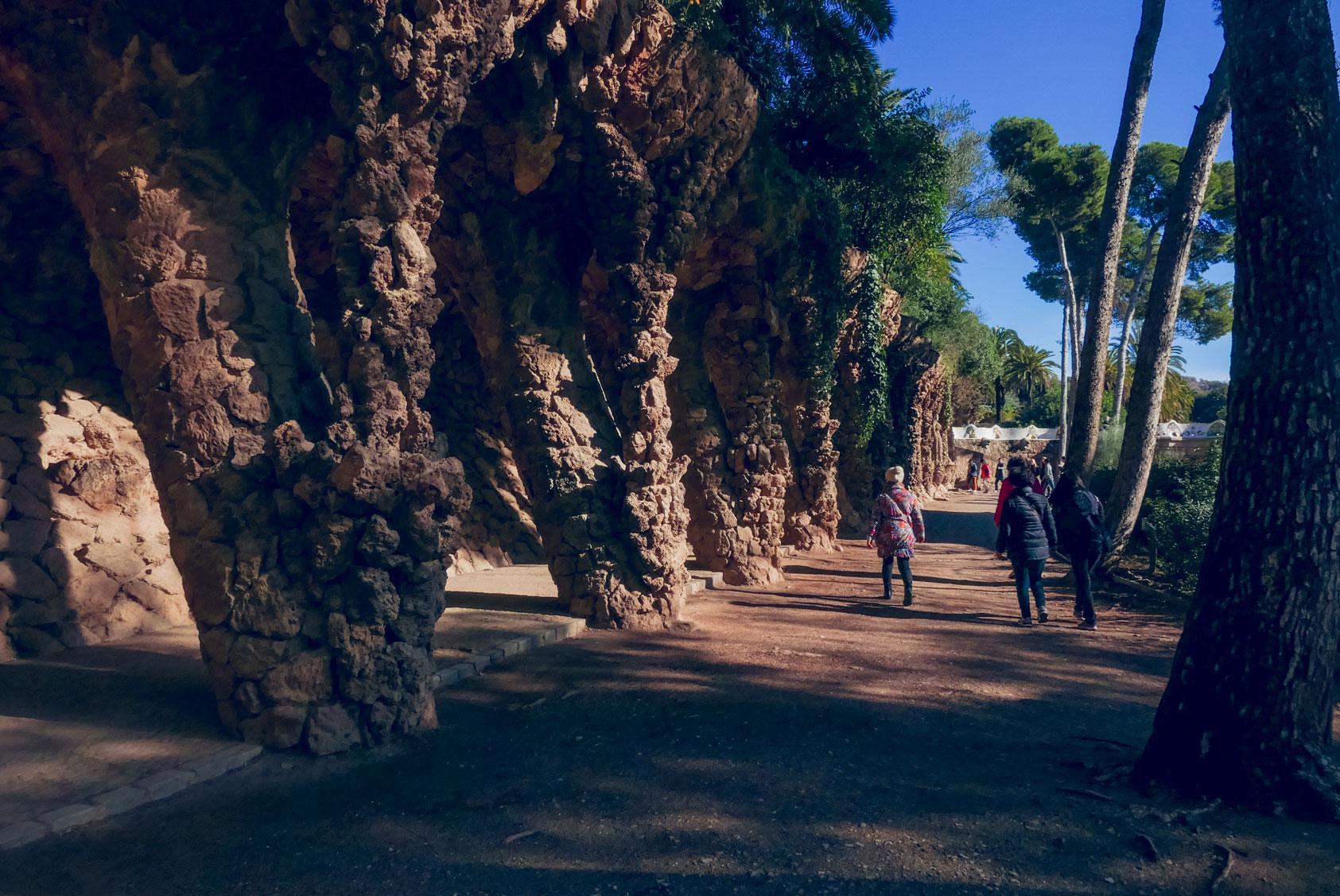 Spain Barcelona Parc Guell14
