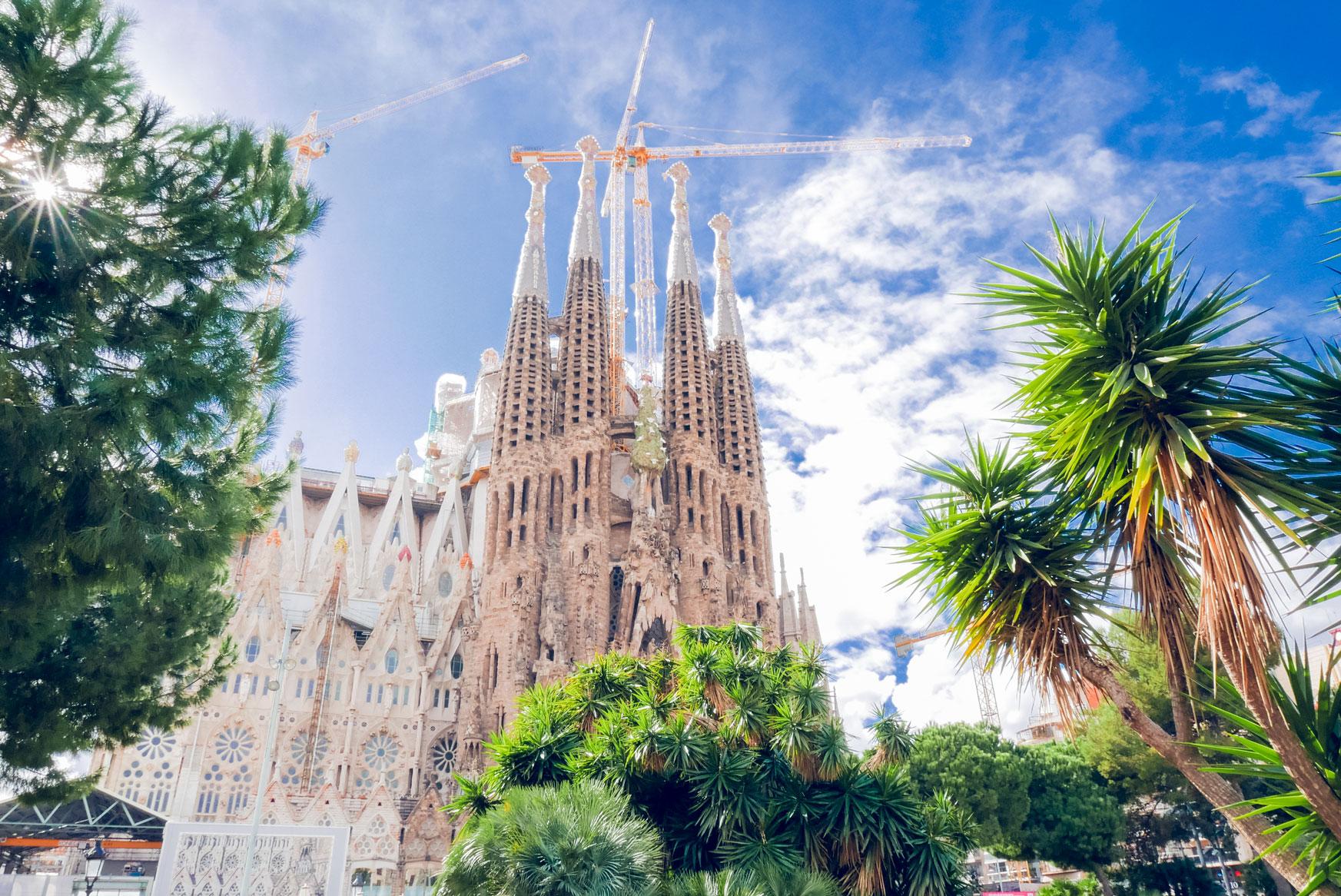 Spain Barcelona Sagrada familia13