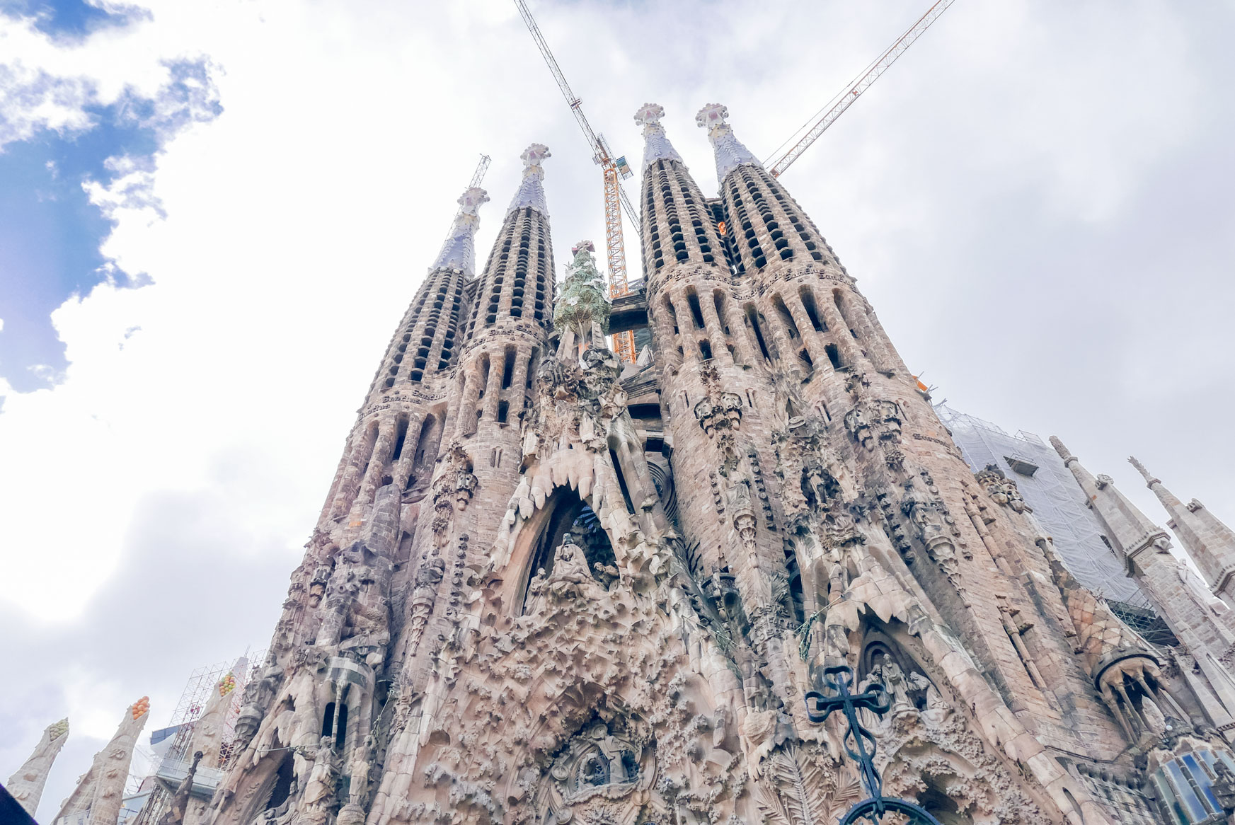 Spain Barcelona Sagrada familia2