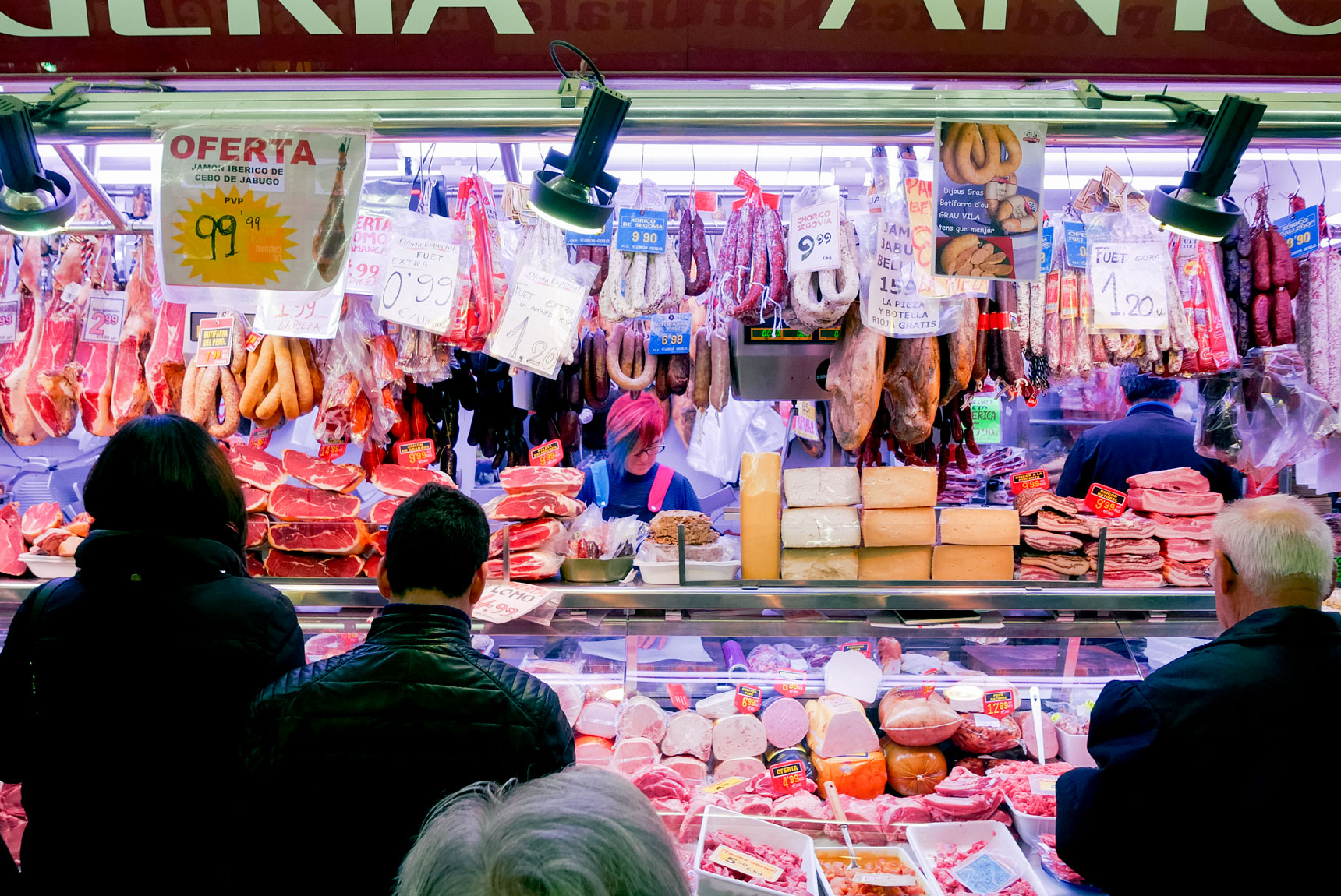 Spain Barcelona Santa caterina Market4