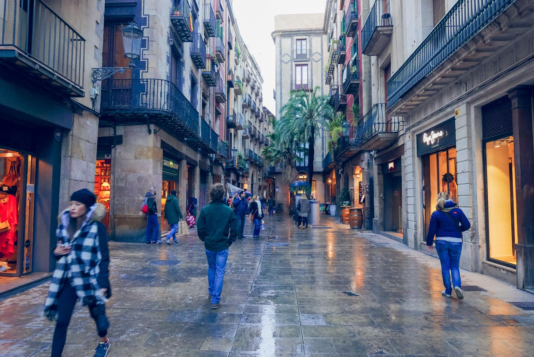 Spain Barcelona el born street
