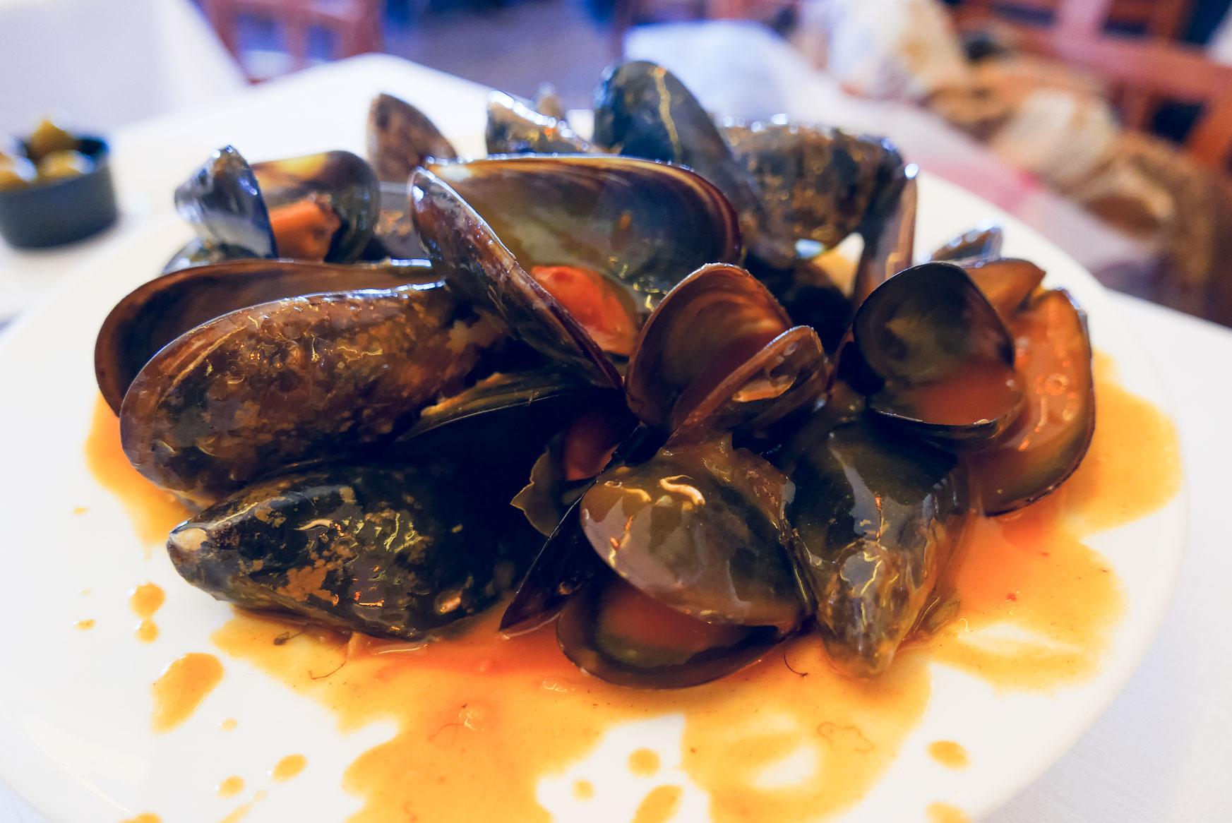 Spain Barcelona fonda del port olimpico seafood